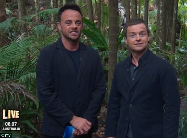 Ant McPartlin Heard Giving Dig At Joe Swash During Live Link