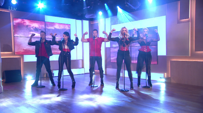 Fans Laugh At Claire Richards Cheesy Dance Moves On This Morning