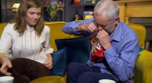 Gogglebox Viewers Left Shocked At The Way Jeremy Corbin Opens Bag Of Celebrations Chocolates