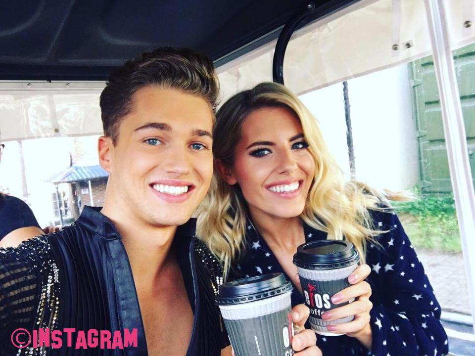 Mollie King Talks About What's Going on Between Her And Strictly Partner AJ Pritchard