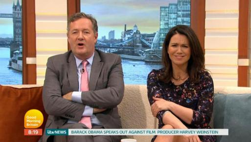Piers Morgan Thinks He Should be Paid more Than Susanna Reid Because He 'Reinvented Breakfast Television'