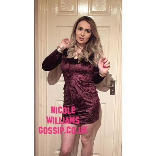Nicole Williams Gossip Goes For Balayage Hair Style