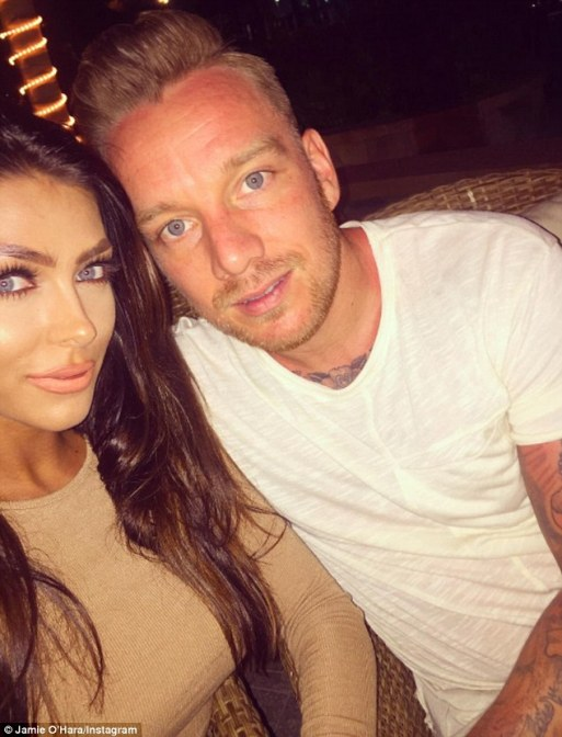 Jamie O'Hara and Elizabeth-Jayne Tierney Have Split After THREE months Getting Engaged
