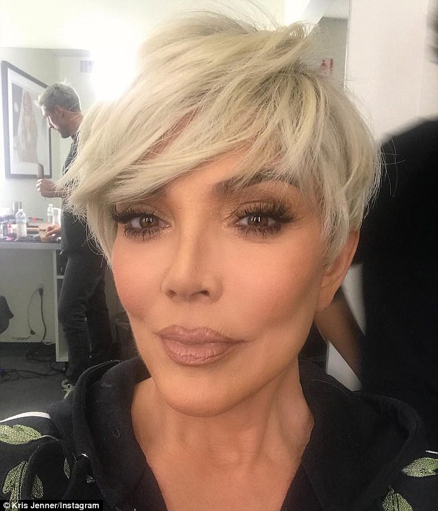 Kris Jenner Has Gone Blonde AGAIN!