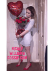 Nicole Williams Gossip Treated To Roses, Balloons And Teddys For Valentines Day!