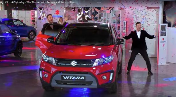 Ant McPartlin And Declan Donnelly Dumpted By Suzuki As They Pull '£20million' Sponsorship Deal