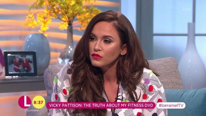Vicky Pattinson Admits She Was On A Diet When She Filmed Her Fitness DVD!