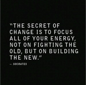 Secret To Positive Change