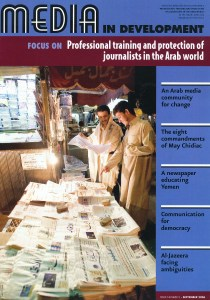 Professional training and protection of journalists in the Arab world