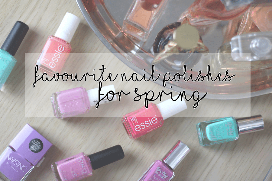 Favourite Nail Polishes For Spring