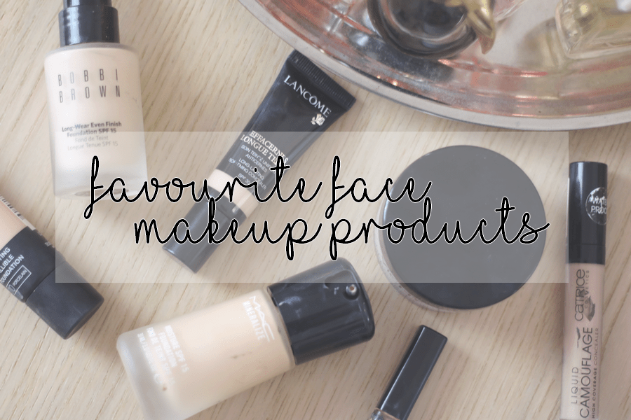 Favourite Face Makeup Products