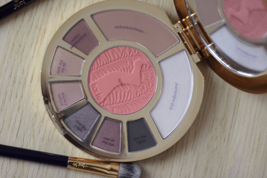 Tarte Showstopper Clay Palette Names