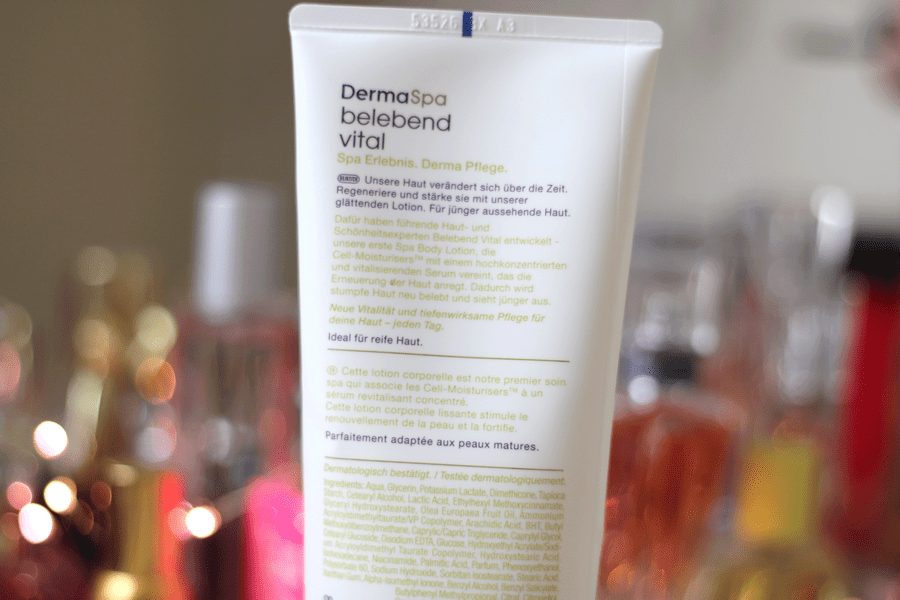 Dove Derma Spa Youthful Vitality Body Lotion