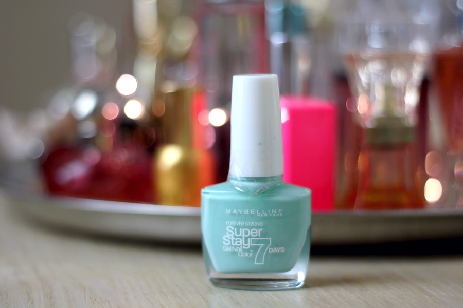 Maybelline Super Stay 7 Days Gel Polish Mint Jade
