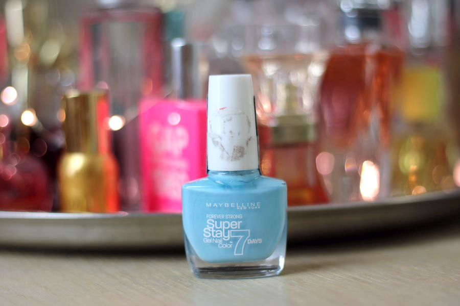 Maybelline Super Stay 7 Days Gel Polish Uptown Blue