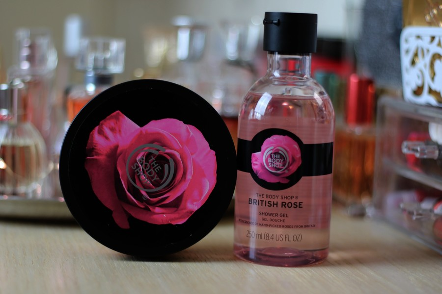 The Body Shop British Rose Shower Gel & Body Butter