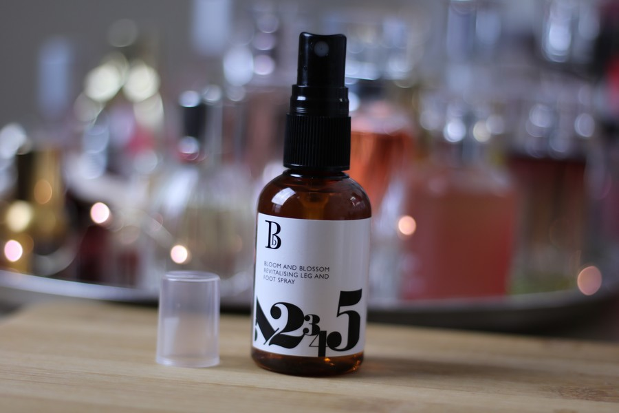 The Solution To Aching Feet And Legs: Bloom & Blossom Revitalising Leg and Foot Spray