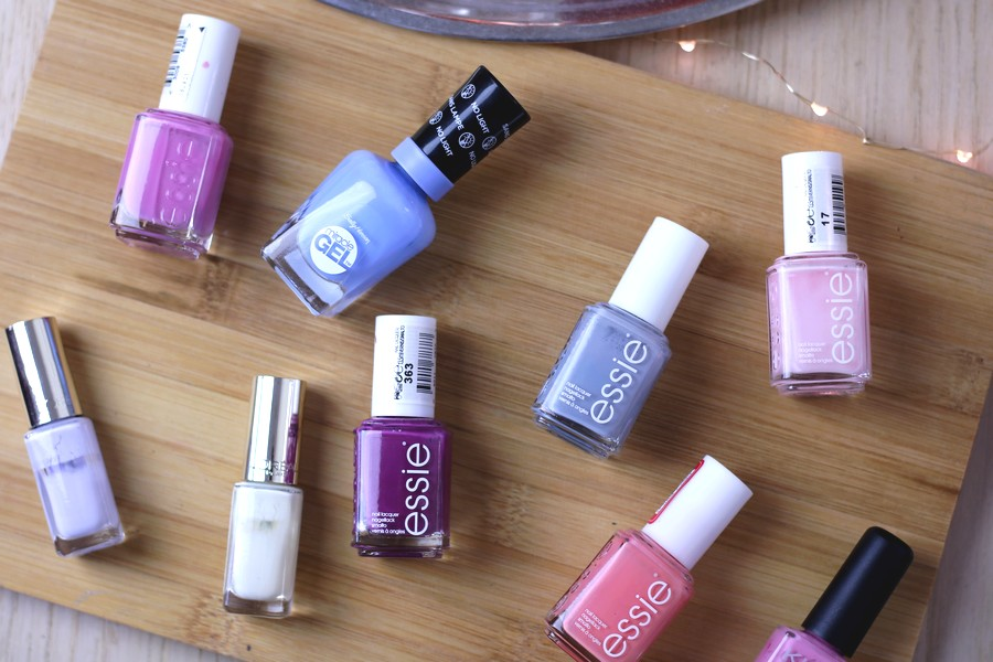 The Prettiest (Pastel) Nail Polishes For Spring!