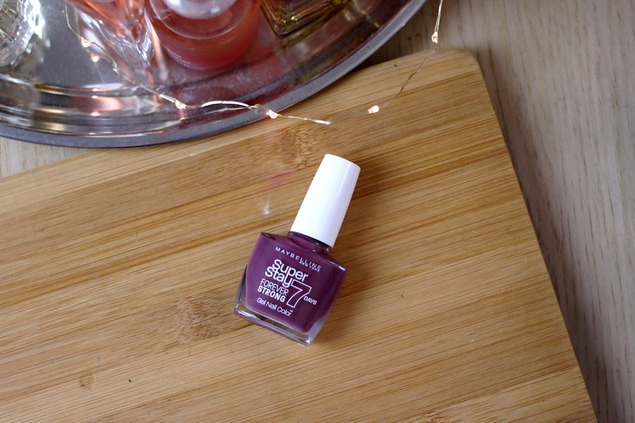Maybelline 24H Nail Polish in Mauve On