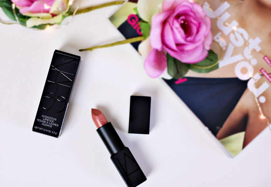 Get Audacious Looking Lips With The Nars Audacious Lipstick in Raquel