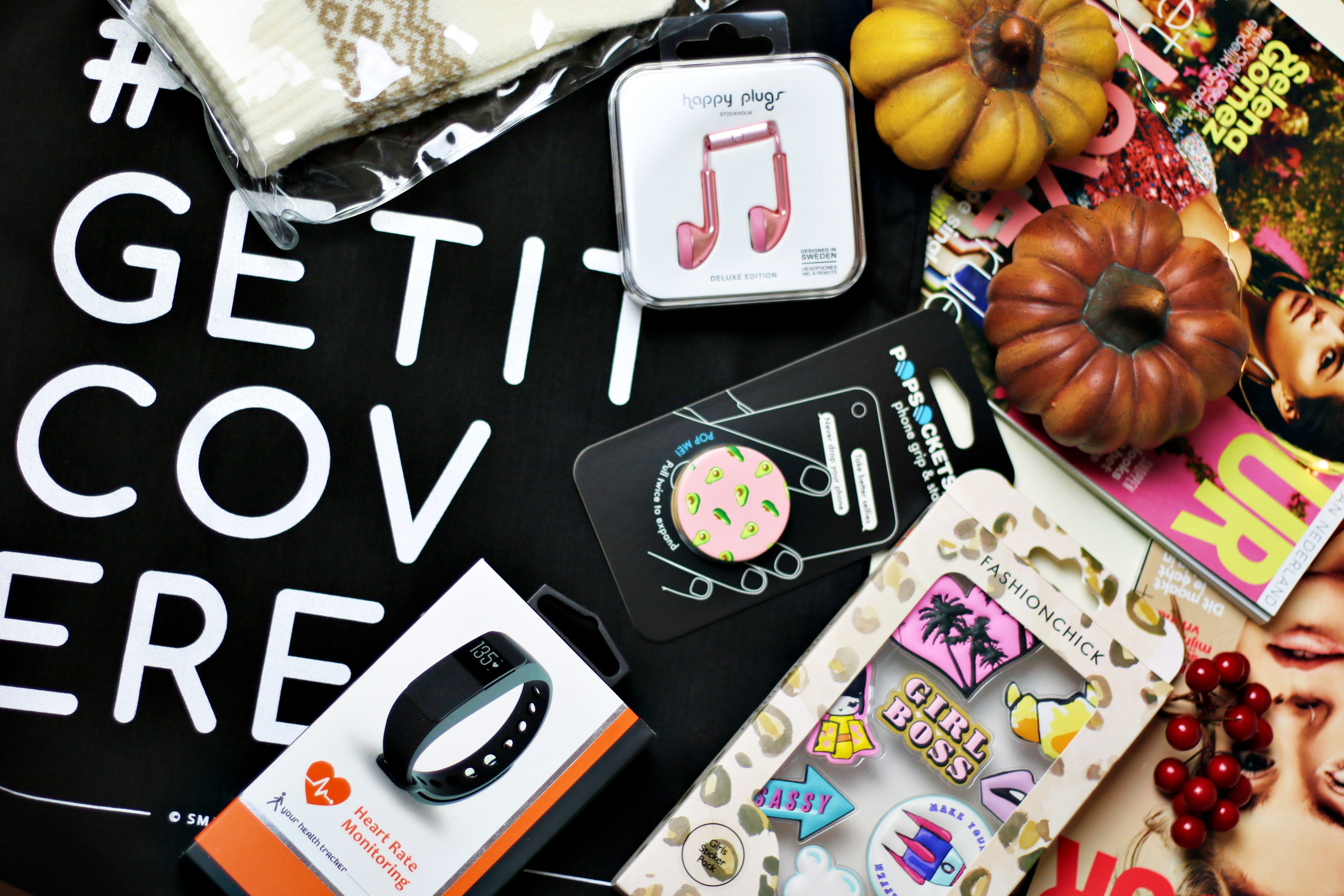 Unboxing My #GetItCovered Goodiebag!
