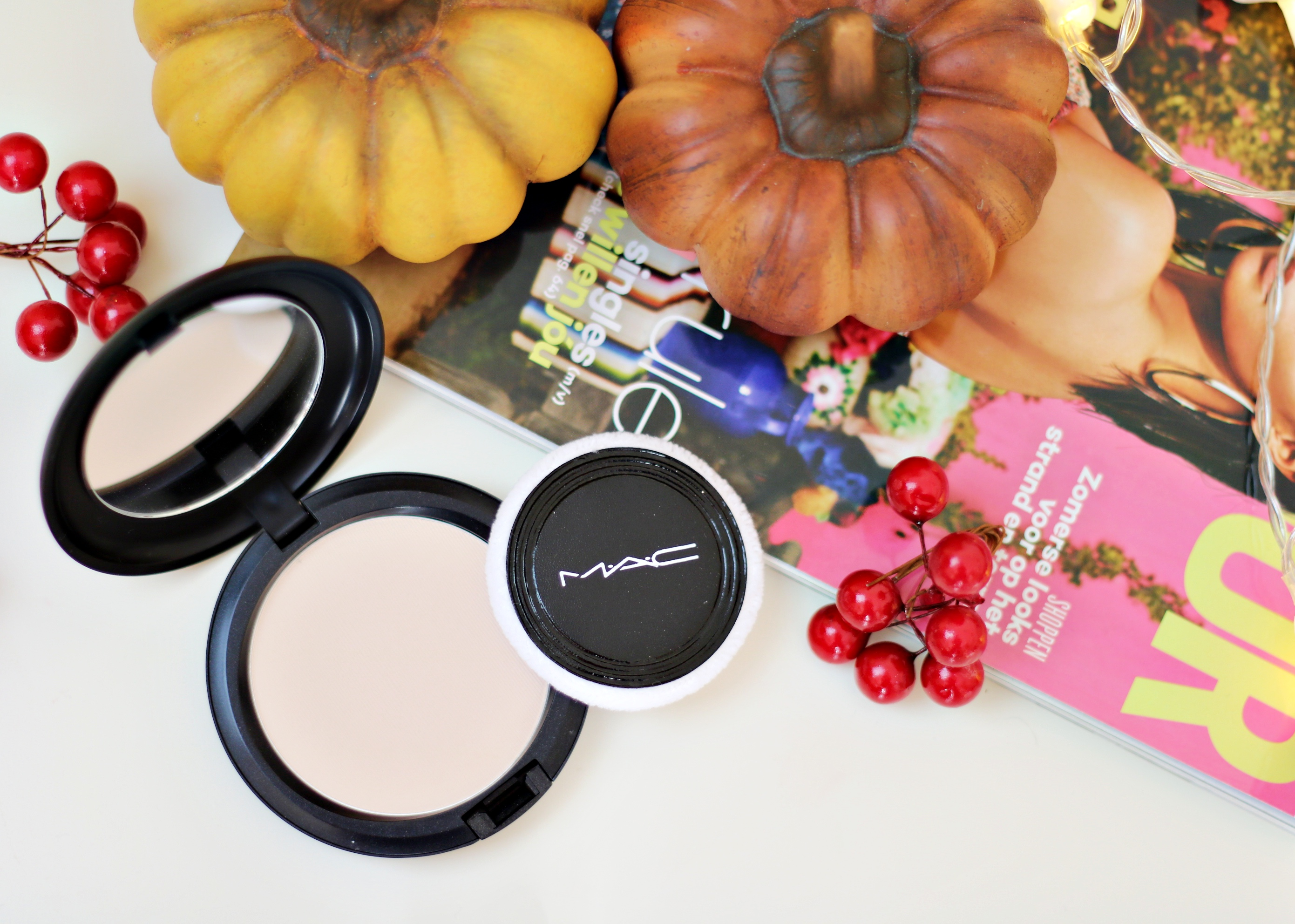 MAC Blot Powder Pressed: Matte Without The Hustle Of A Loose Powder!