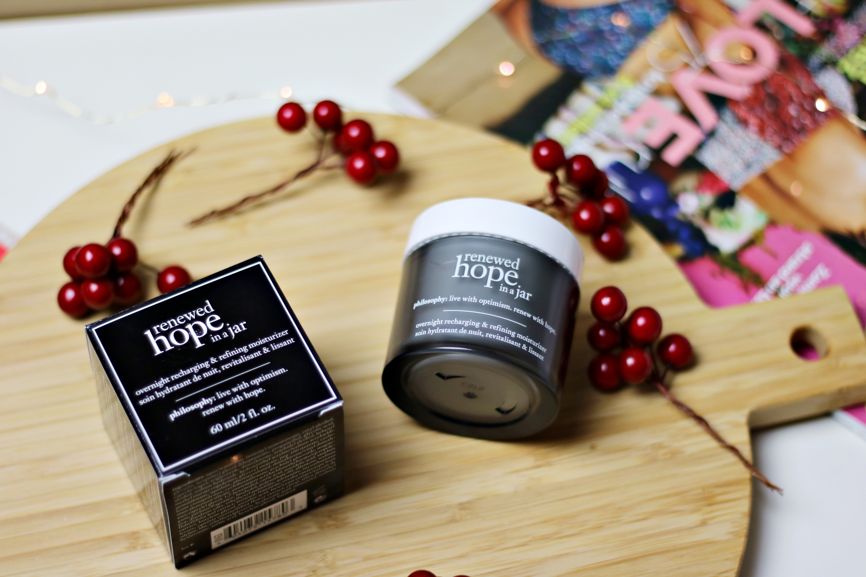 Philosophy Renewed Hope In A Jar Nighttime Moisturiser