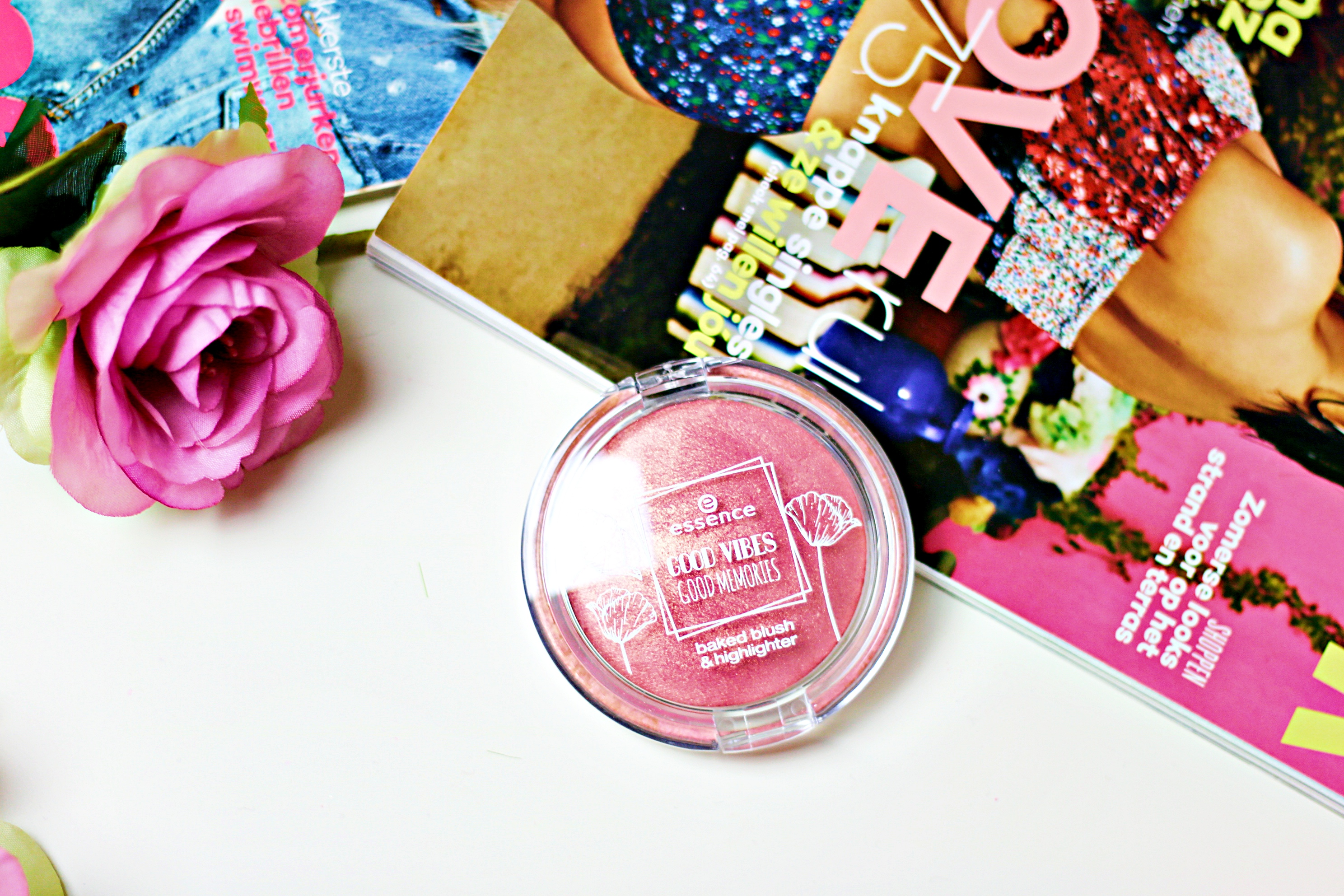 Essence Good Vibes Good Memories Baked Blush & Highlighter