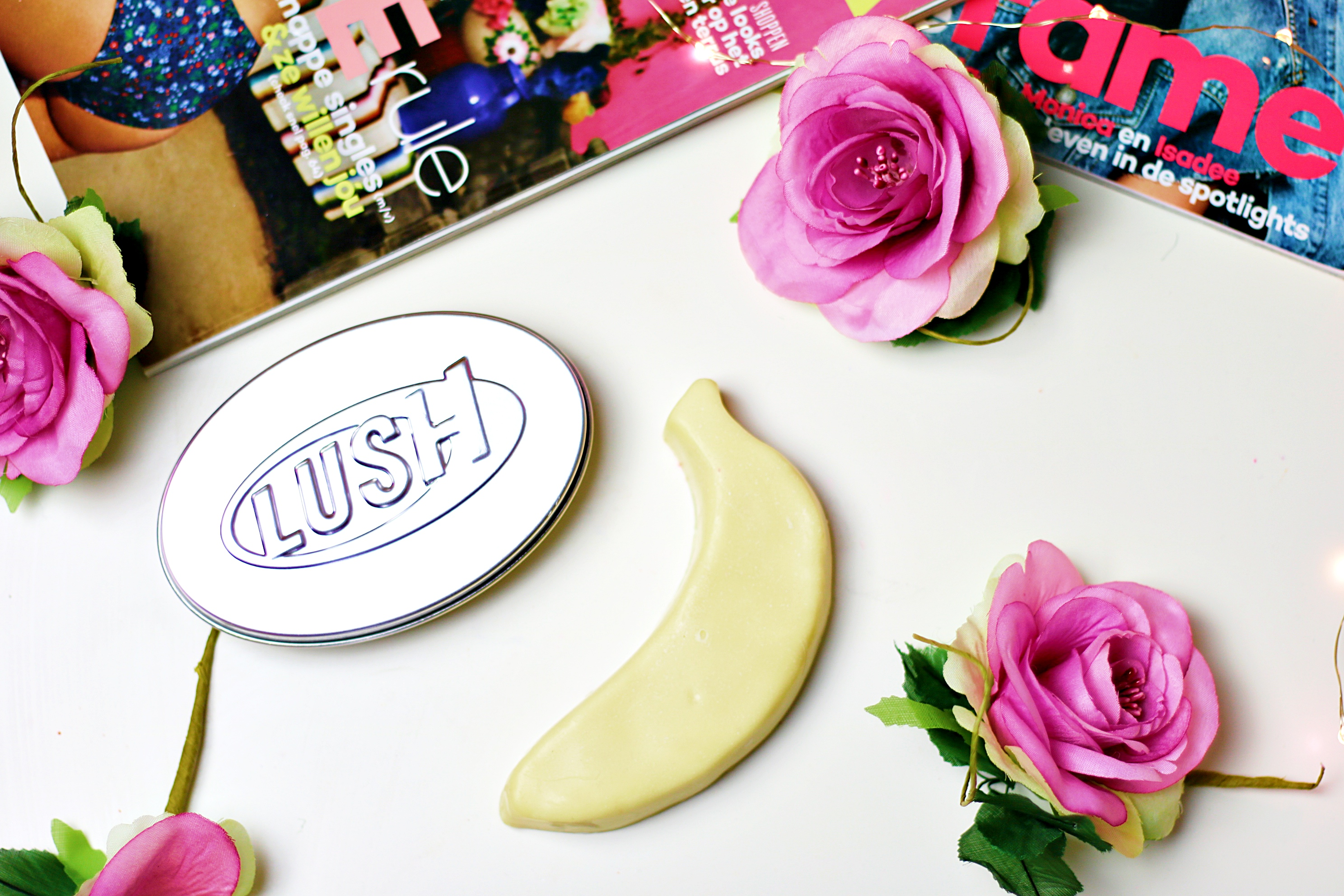 Lush The Big Banana Massage Bar