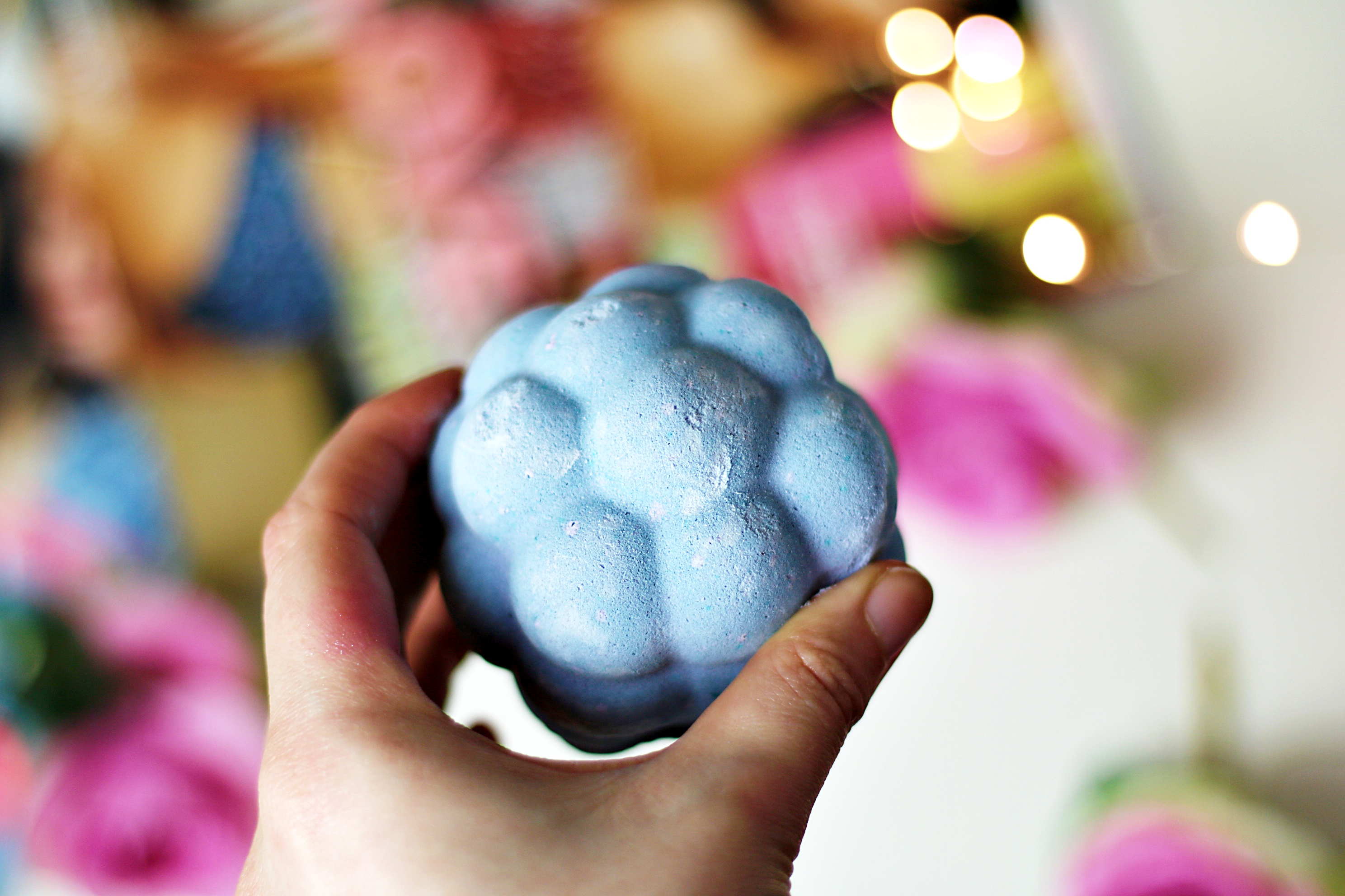 Lush Harajuku Blackberry Bath Bomb