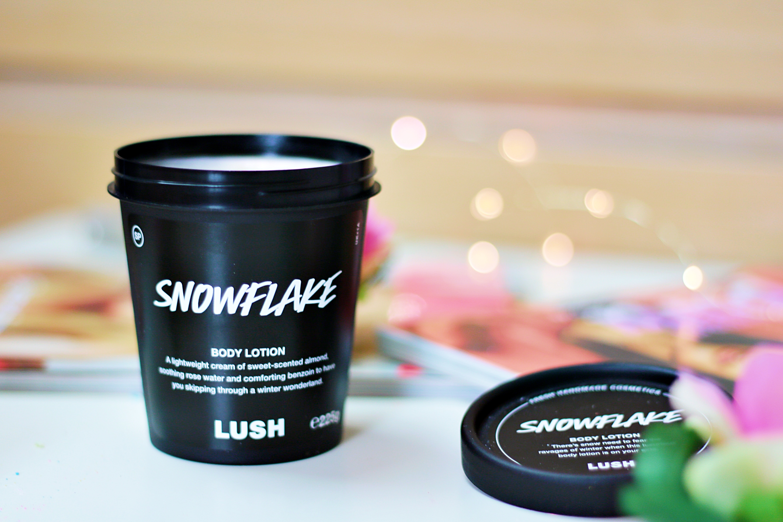 Lush Christmas 2019 Snowflake Body Lotion