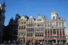 Gebäude auf dem Grote Markt in Brüssel.
