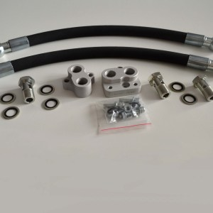 Oil Filter Body relocation Kit For swap to RX-8 SE3P