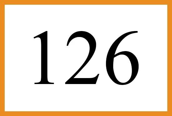 126のエンジェルナンバーの意味は『あなたの思考で状況をコントロールしましょう』です
