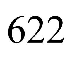 angel number 622