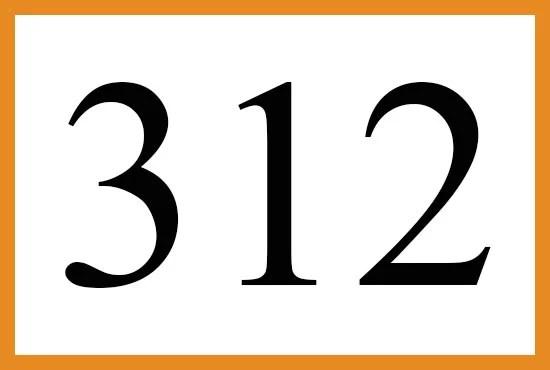 angelnumber312