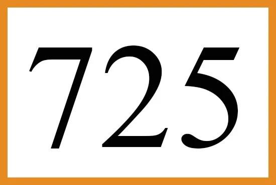 725のエンジェルナンバーの意味について