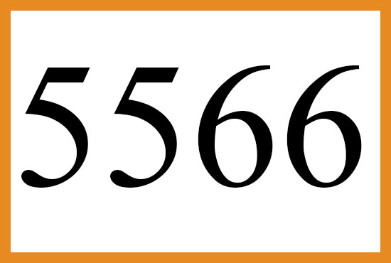 5566のエンジェルナンバーの意味について