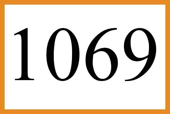 1069のエンジェルナンバーの意味について