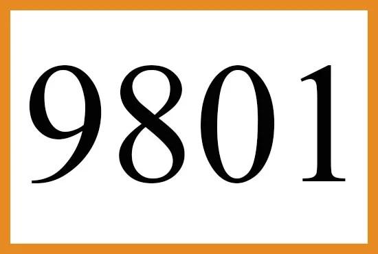 9801のエンジェルナンバーの意味について
