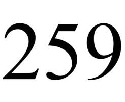 259のエンジェルナンバーの意味について