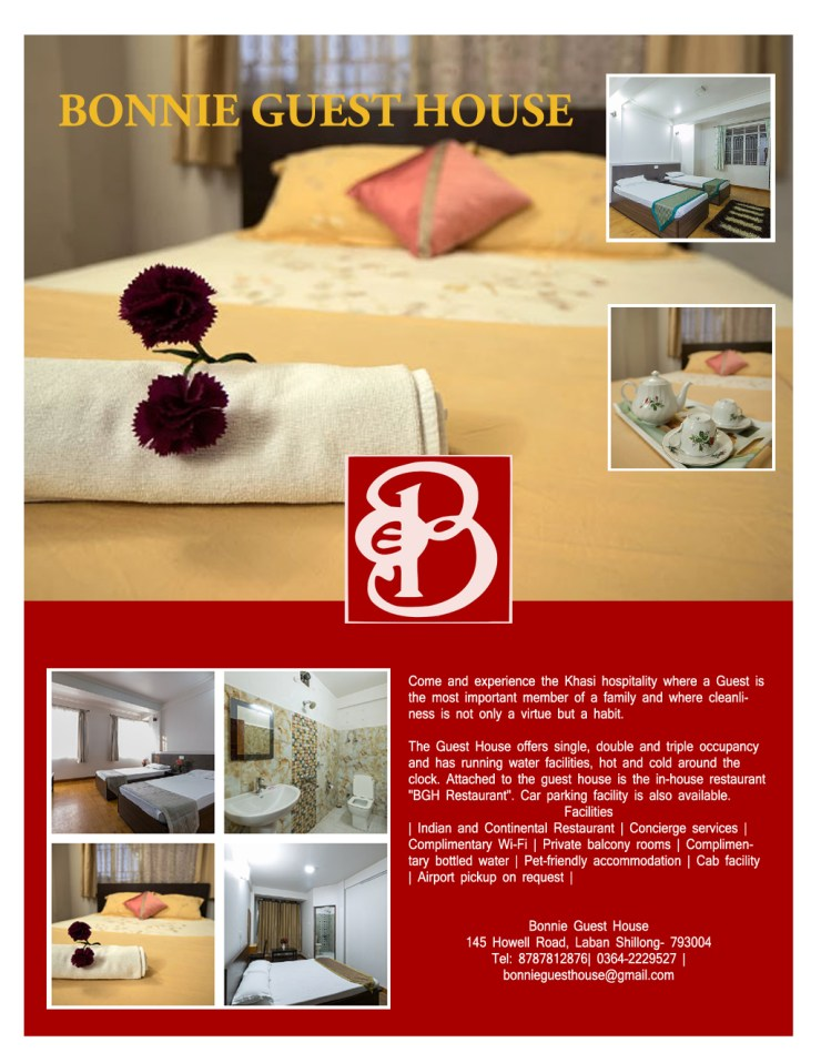 BGH brochure guest houses in shillong