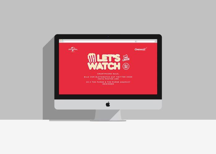 Let's Watch Website