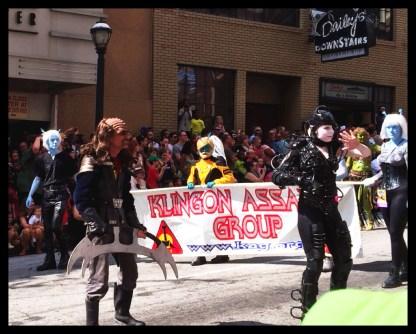 Klingon Ass Group!