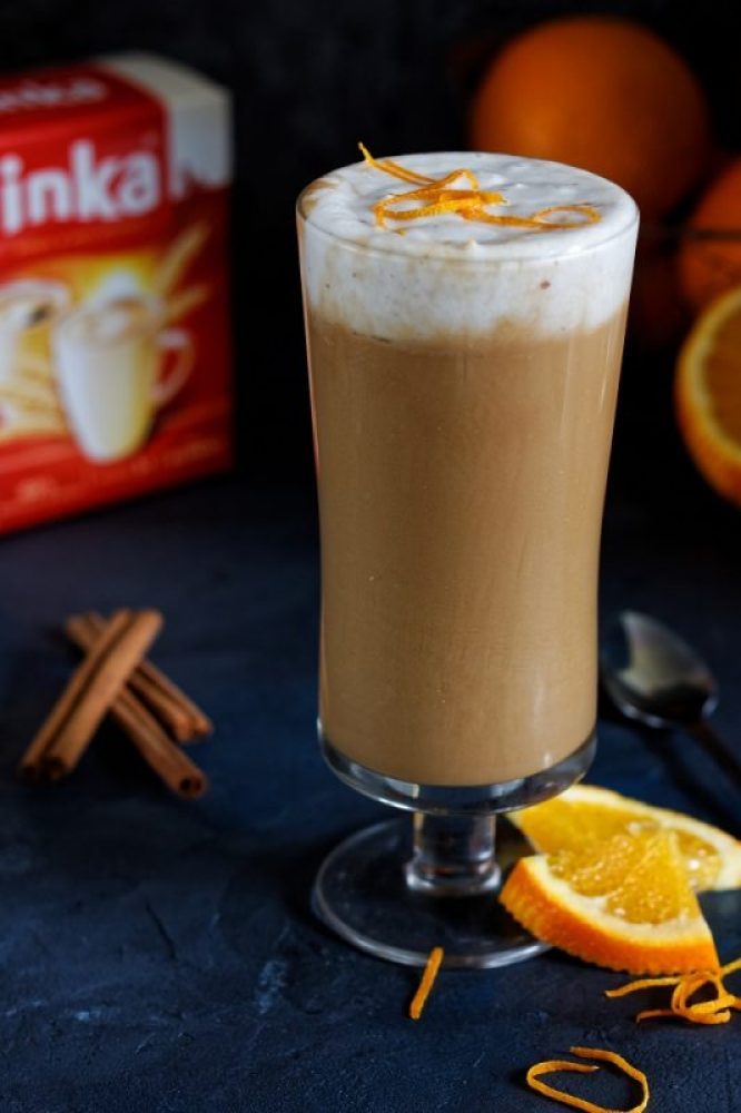 Kawa Inka z pomarańczą i kokosową pianką
