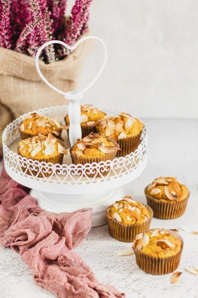 Muffinki dyniowe babeczki dyniowe bezglutenowe i wegańskie