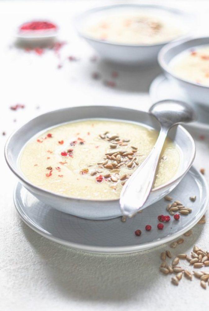 Zupa z gruszki i pietruszki