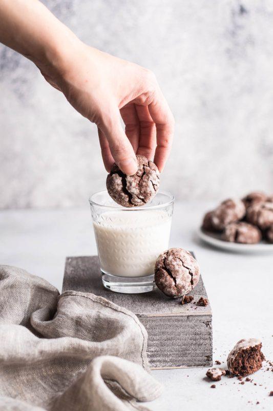 Ciasteczka czekoladowe bezglutenowe