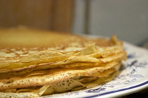 Pâte à crêpes fermentée (avec ou sans levain)