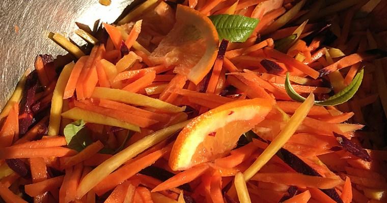 Suri de carottes à l'orange